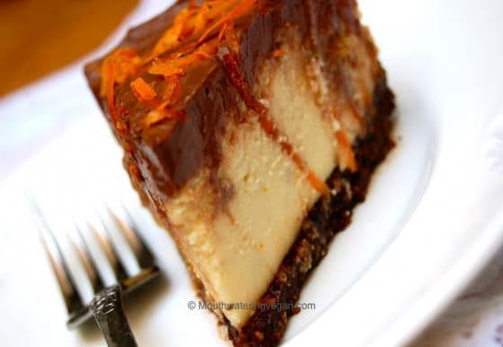 Double Devilled Choc N Orange Mousse Cheesecake