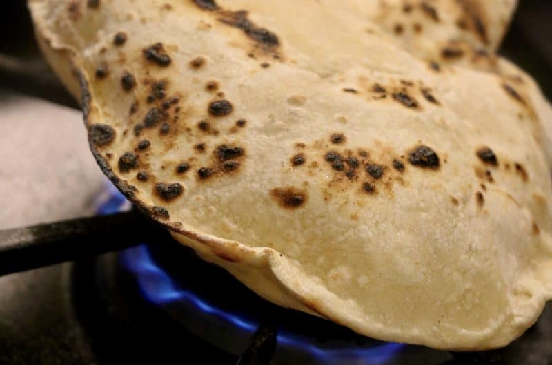 Fired Chapatis