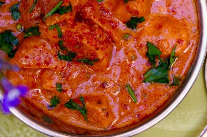 Vegan 'Chicken' Tikka Masala