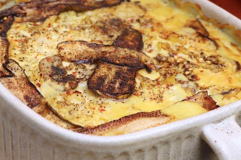 Cauliflower Cheese & Mushroom Pasta